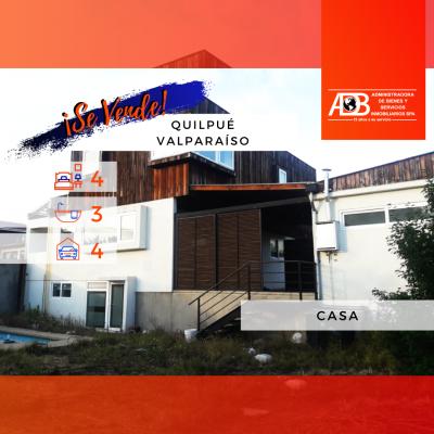 Oportunidad Casa Estilo Mediterráneo – Quilpue, Valparaíso