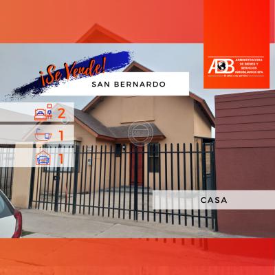 Casa Impecable en San Bernardo
