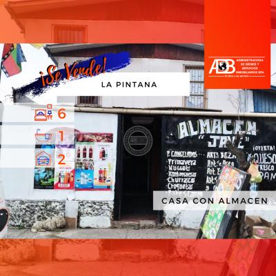 Casa con Almacén en La Pintana