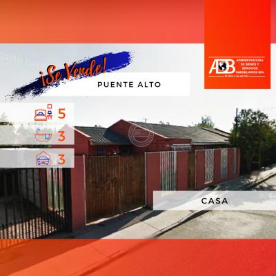Liquidamos Casa en Puente Alto