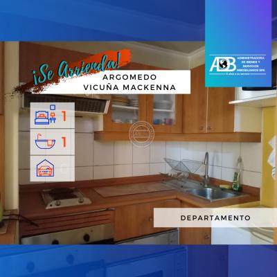 Departamento Amoblado en Argomedo 65, Santa Isabel