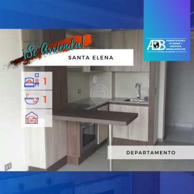 Departamento en Santa Elena cercano al Metro Ñuble